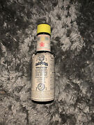 Vintage Angostura Aromatic Bitters Bottle 2 Oz. Paper Label Almost Full