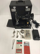 1948 Singer Featherweight 221 Sewing Machine Plus Extras