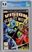 Vision And Scarlet Witch 1 Marvel 1982 Cgc 9.8 1st Solo Top Census Grade Avengers