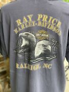 The Vintage Twin Ray Price Harley-davidson Cycles Raleigh, Nc T-shirt Large