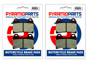 Front Brake Pads 2 Pairs For Moto-guzzi 1100 California Special 2001