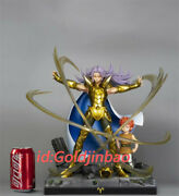 Saint Seiya Gold Saint Aries Mu Resin Model Painted Statue In Stock Model Palace