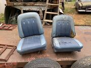 1965 Ford Fairlane 500 Sports Coupe Front Bucket Seats Mercury F100 1964 1966 67