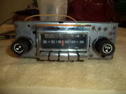 Corvette 1972 - 1976 Am/fm Stereo Radio And Correct Amp Execllent Cond Oem Ncrs