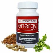 Extreme Energy - All-day Energy Pills That Really Work 100 Natural