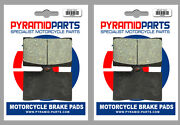 Front Brake Pads 2 Pairs For Moto-guzzi 1100 California Special 99-00