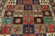 9and0396 X 6and0397 Rich Color Fine S Antique Kurdish Oriental Handmade Wool Area Rug 7x10
