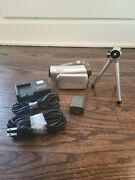 Tested/working Panasonic Pv-gs39 Mini Dv Camcorder 30x Zoom W/ Tripod And Charger