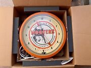 Rare Vintage Hooters Restaurant Advertising 20andrdquo Clock Mint Nos Neon Old Owl