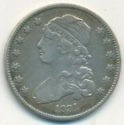 1831 Capped Bust Silver Quarter-nice Circulated Early Quarter-ships Free Inv2
