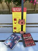 Gates Belt Metal Advertising Sign With 2 Guide Books 1964 And 1968
