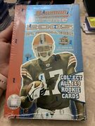 2005 Bowman Chrome Football Hobby Box Factory Sealed Potential Aaron Rodgers Rc