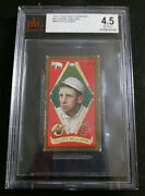 1911 T205 Eddie Collins Piedmont Mouth Closed 37 Vg-ex+ 4.5 Extremely Low Pop