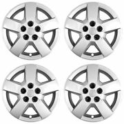 New Wheel Covers Hubcaps Fits 2006-2011 Chevrolet Hhr/malibu 16 Silver Set Of 4