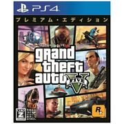 Grand Theft Auto V Premium Edition Sony Ps4 Games From Japan