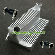 7.5 Stepped Race Intercooler+silicone Hose Pipe For Bmw 135i 335i 335xi N54