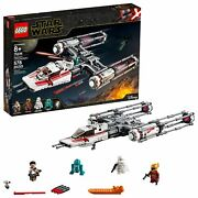 Lego Star Wars The Rise Of Skywalker Resistance Y-wing Starfighter 75249 Build