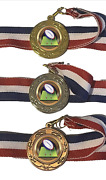 Rugby Pitch 40 Mm Emperor Sports Medal G Optional Engraving