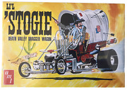 Amt Liand039l Stogie Death Valley Dragger Wagon 1/25 Model Kit New Sealed Little Lil