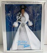 Holiday Christmas 2003 Holiday Visions Winter Fantasy African American Barbie