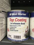 West Marine Top Coating For Inflatables Black