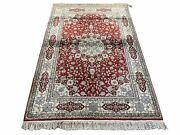 4and039 X 6and039 Vintage Fine Handmade Chinese Oriental Silk Rug 400 Kpsi Wow