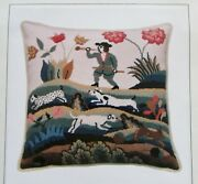 It's Polite To Point Winterthur Hill And Dale Piper 14 Needlepoint Pillow Kit Nib