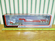 Case Ih Mack R Model Truck With Lowboy Trailer By First Gear 1/64th Scale