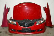 Jdm Honda Accord Cm2 Acura Tsx Cl7 Cl9 Front End Hood Fenders Radiator Support