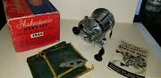 Vintage Shakespeare Service Reel 1946m Fishing Reel W/box Docs Bag And Tool