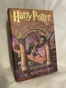 Rare Library / Hc 1st Print Harry Potter The Sorcererand039s Stone By J. K. Rowling