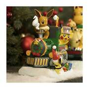Delibird Holiday Express Pikachu Engine Figure Collect All 4 Pokemon Train