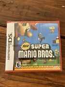 Factory Sealed Nintendo Ds Super Mario Bros. 2006 Complete Red Case New In Box