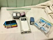 Assorted Lot Of 10 Hp Genuine Empty Ink Cartridges For Refill