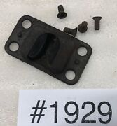 1929 Dodge 4d Dr Front Door Female Dovetail Guide Plate W/ Screws 1929