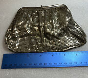 Vintage Whiting And Davis Silver Mesh Bag 2940, Made In Usa