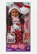 My Life As Hello Kitty 18 Poseable Doll Brunette Bundle New In Box