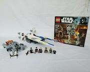 Lego Star Wars Rogue One Lot 75153 New+sealed - 75155 + 75152 Complete Set Used