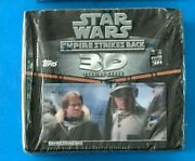 Star Wars Topps Empire Strikes Back 3d Widevision Sealed Box B