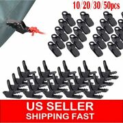50pc Awning Tarp Clamp Set Tent Clips Hangers Survival Emergency Grommet 20/10pc