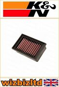 Bmw G650 Xchallenge 2007-2008 [kandn Motorcycle Replacement Air Filter] Bm-6507