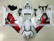 Fairing Red White Fit For 2003 2004 Gsxr1000 03-04 K3 Injection Plastics Set 24