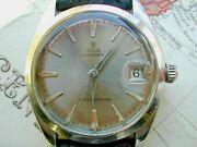 Rolex Tudor Oysterdate 1962 Rare Grey/silver Dial Gentlemanand039s Serviced