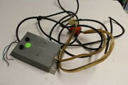 Data East Secret Service Pinball Machine Power Switch Box - Used For Parts