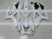 Fairing Pearl White Injection Plastic Set Fit For 2006-2007 Gsxr 600 750 K6 Q32