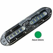 Shadow-caster Marine Lighting Scm-10-ag-20 Shadow-caster Aqua Green 10 Led Un...