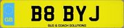 B8 Byj Private Plate Cherished Registration Number Baby Bobby