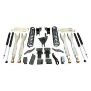 Maxtrac 17-19 Ford F-250/350 4wd 6in/2in Maxpro Coil Lift Kit W/4-link Arms And M