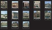 Woodland Scenics N Scale Town And Factory Building Kit 13 Buildings New 1485