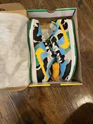 Size 13 - Nike Sb Dunk Low Ben And Jerryand039s Chunky Dunky Black/gold/lagoon...
